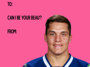 The Canucks can be your Valentines! Image via sealcat/tumblr.